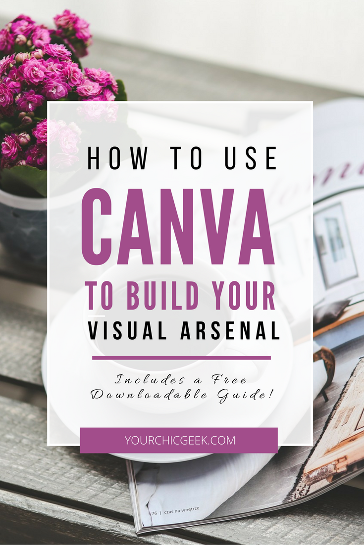 Canva is one of my favorite visual and graphic design tools. Sharing a post on how to use Canva to create graphics and build your visual arsenal.