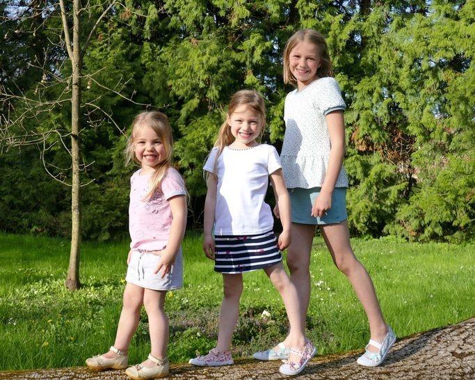 Jupe-short et short du 2 au 16 ans – patrons et explications détaillées