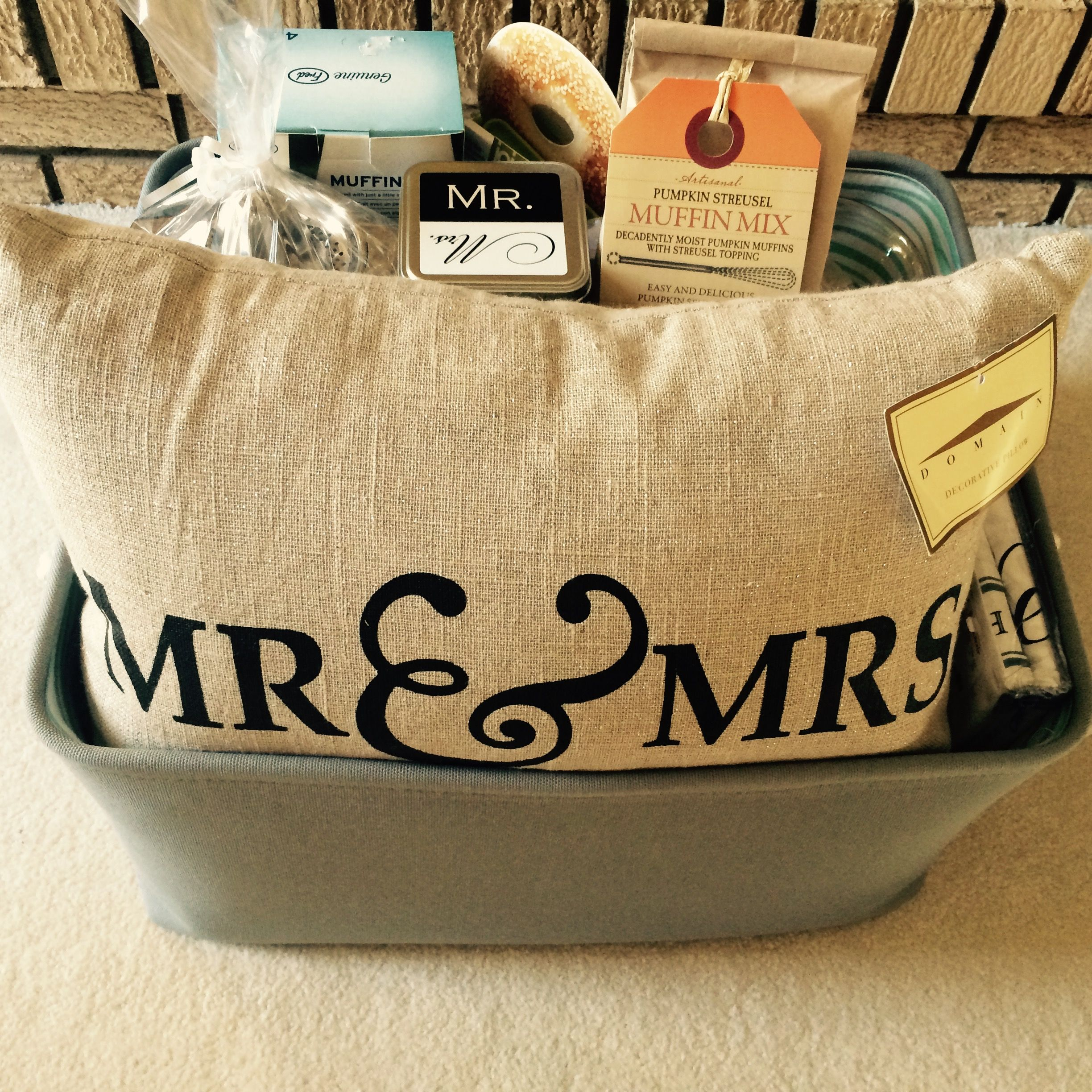 Breakfast In Bed Shower Gift Basket. Poem To Include On