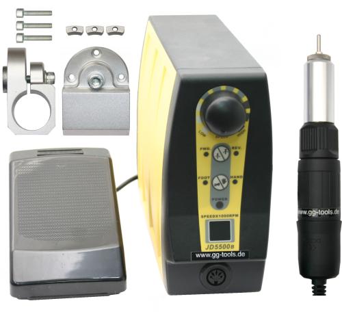 Präzisions MICRO-DC-Motor mit Steuerung für LEINEN Höhensupport für Uhrmacherdrehbank