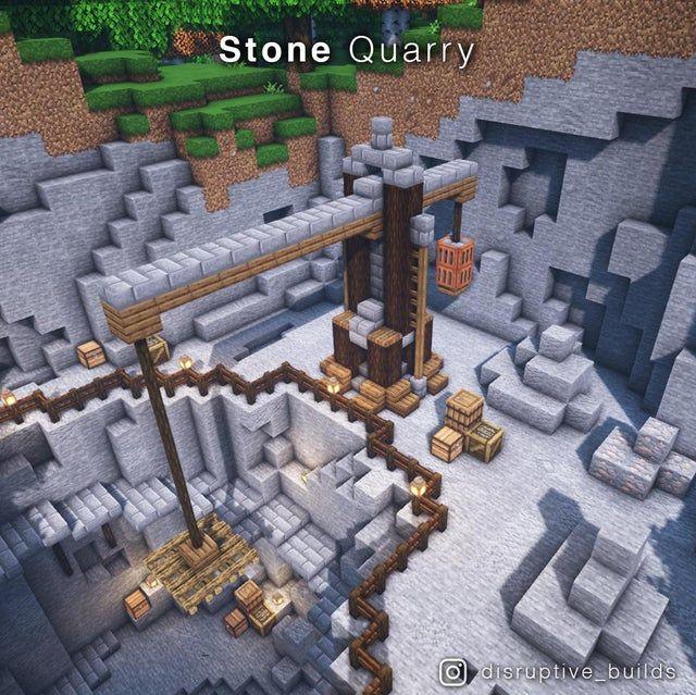 I made a Stone Quarry! I made a Stone Quarry! : Mi