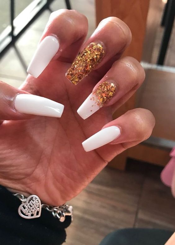 80 Cute Acrylic Nails Designs To Inspire Your Winter Holiday 2018 2019 Cute Acrylic Nail Designs Cute Acrylic Nails Cute Nails