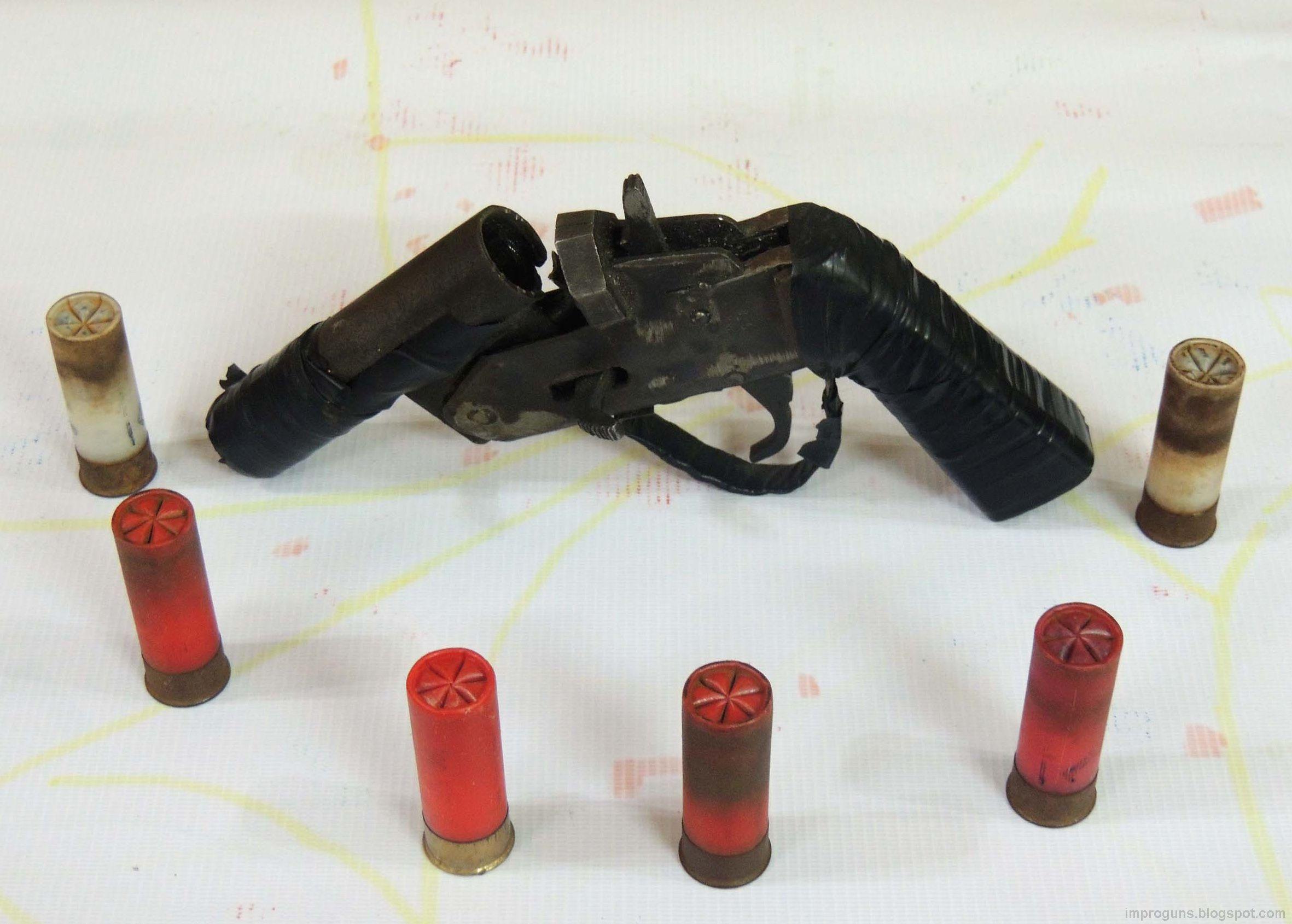 locally made shotgun pistol (egypt) | shotguns, weapons and craftsman