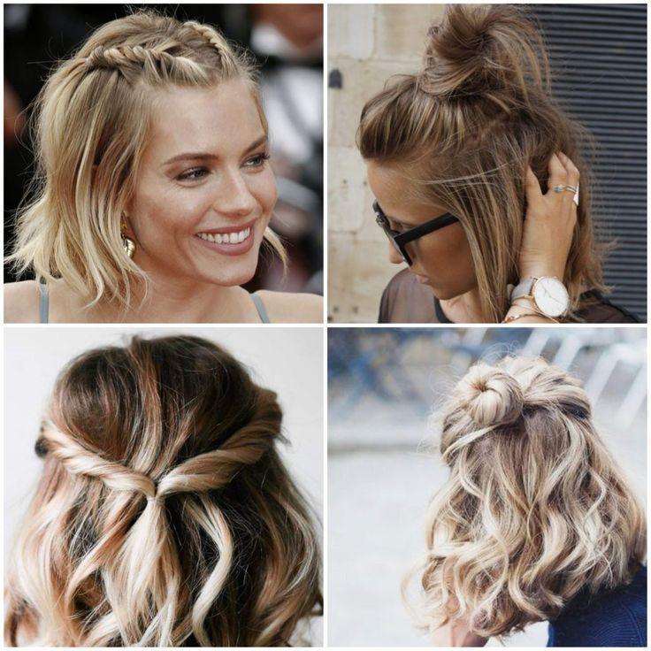 Hairstyle Hairstyles Short Hair Updo Hair Styles Medium Hair Styles