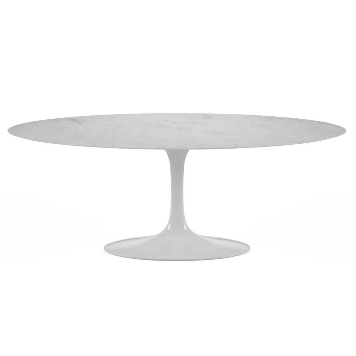 Tulip Oval Table Carrara Marble Table Ovale Marbre Et Table Basse