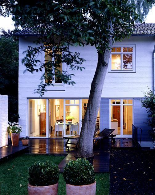 Doppelhaushalfte Vor Nachteile Klinkerhaus Anbau Haus Haus
