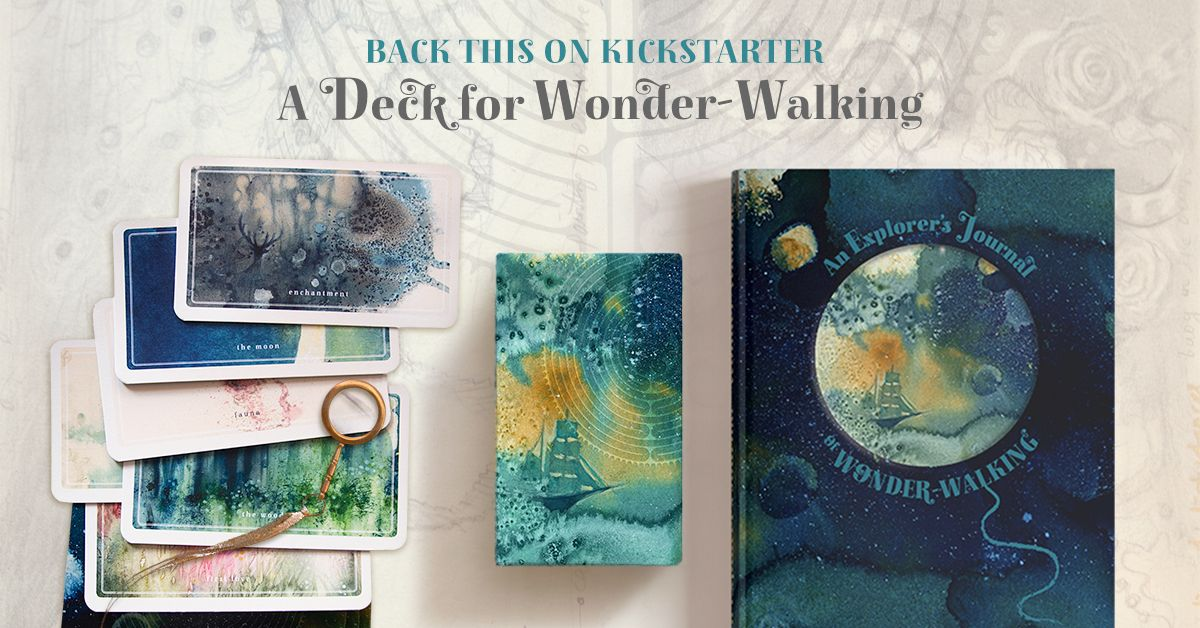 A Deck for WonderWalking Oracle cards, Inspirational