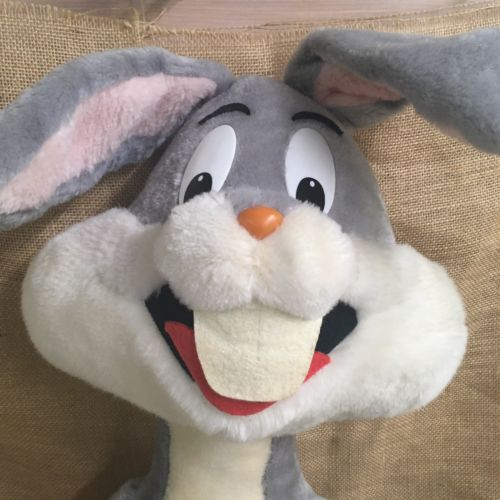 42 Inch Tall Warner Brothers Bugs Bunny Large Plush Ebay Bunny Plush Plush Looney Tunes Bugs Bunny