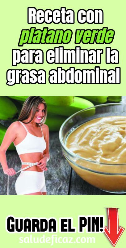 dieta del guineo verde para bajar de peso