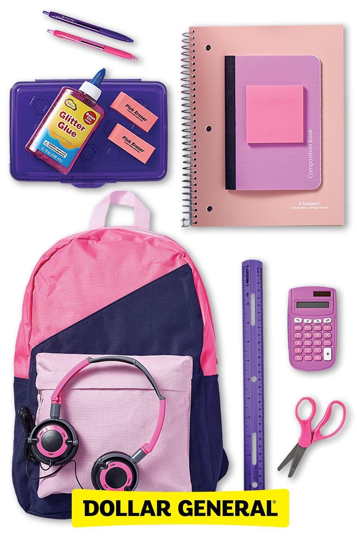 School Supplies For Girls Girl School Supplies Cool School Supplies School Supplies