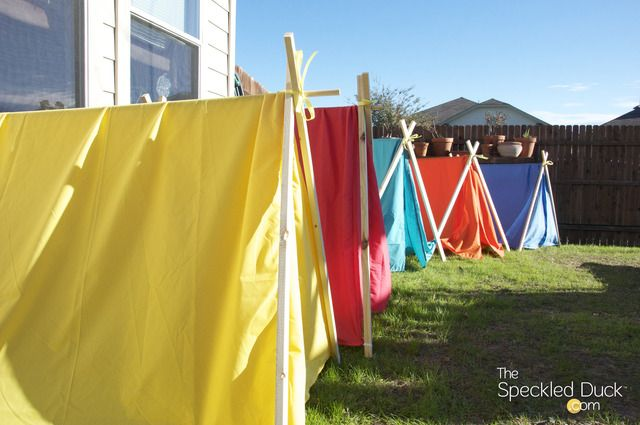 Camping Birthday Party Ideas   Backyard camping parties ...