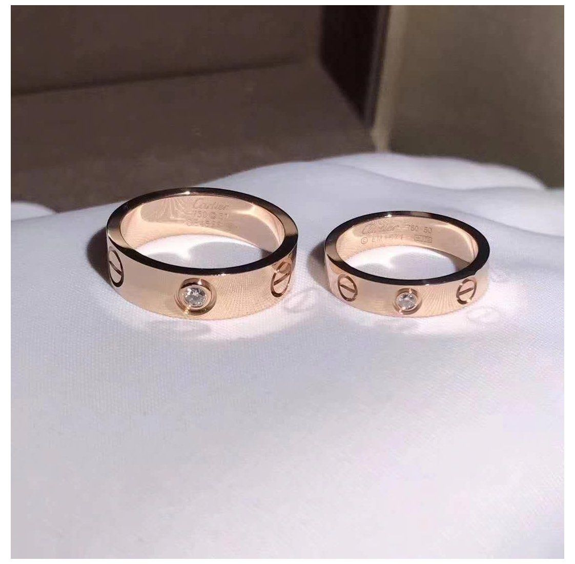 Cartier Love Ring Cartier Love Band Couples Band Cartier Love Ring With Diamond Band Love R In 2020 Cartier Love Ring Cartier Wedding Bands Cartier Wedding Rings