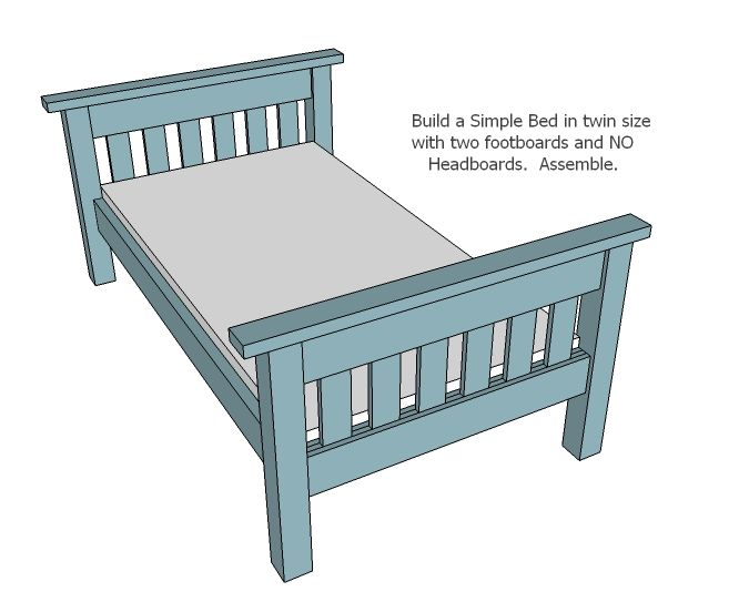 Best Simple Bunk Bed Plans Twin Over Full Bunk Bed Plans 400 x 300