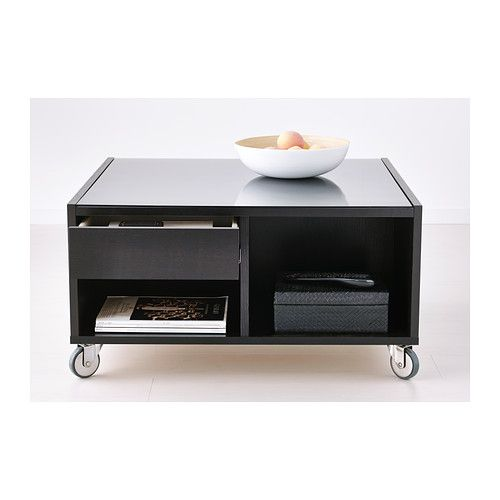 Groovy Boksel Coffee Table Black Brown Ikea Ikea Glass Coffee Gmtry Best Dining Table And Chair Ideas Images Gmtryco