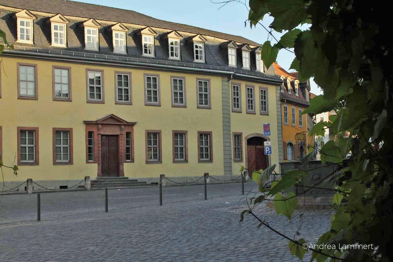 Goethe In Weimar Spaziergang Auf Den Spuren Des Dichters Ciudades