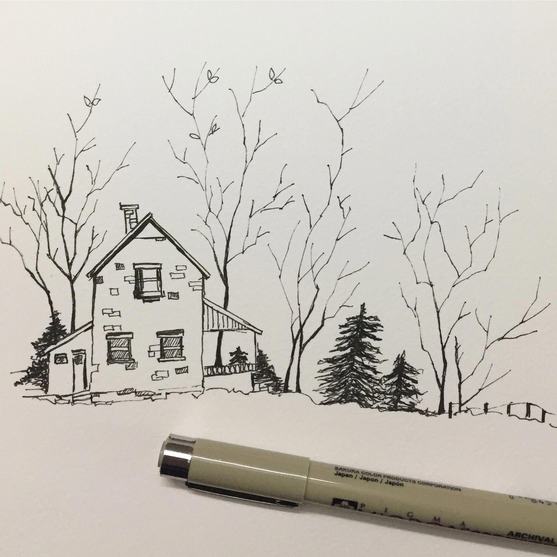 Tips On Finding The Best Landscape Supply Deals Landscape Pencil Drawings Landscape Sketch Art Drawings