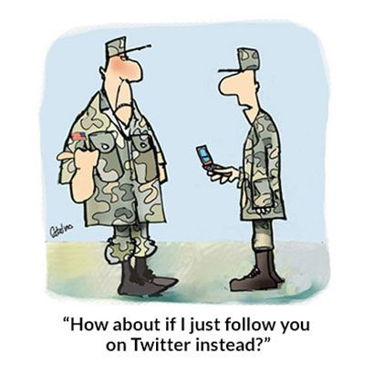 25 Funny Military Cartoons To Make You Appreciate Our Troops And