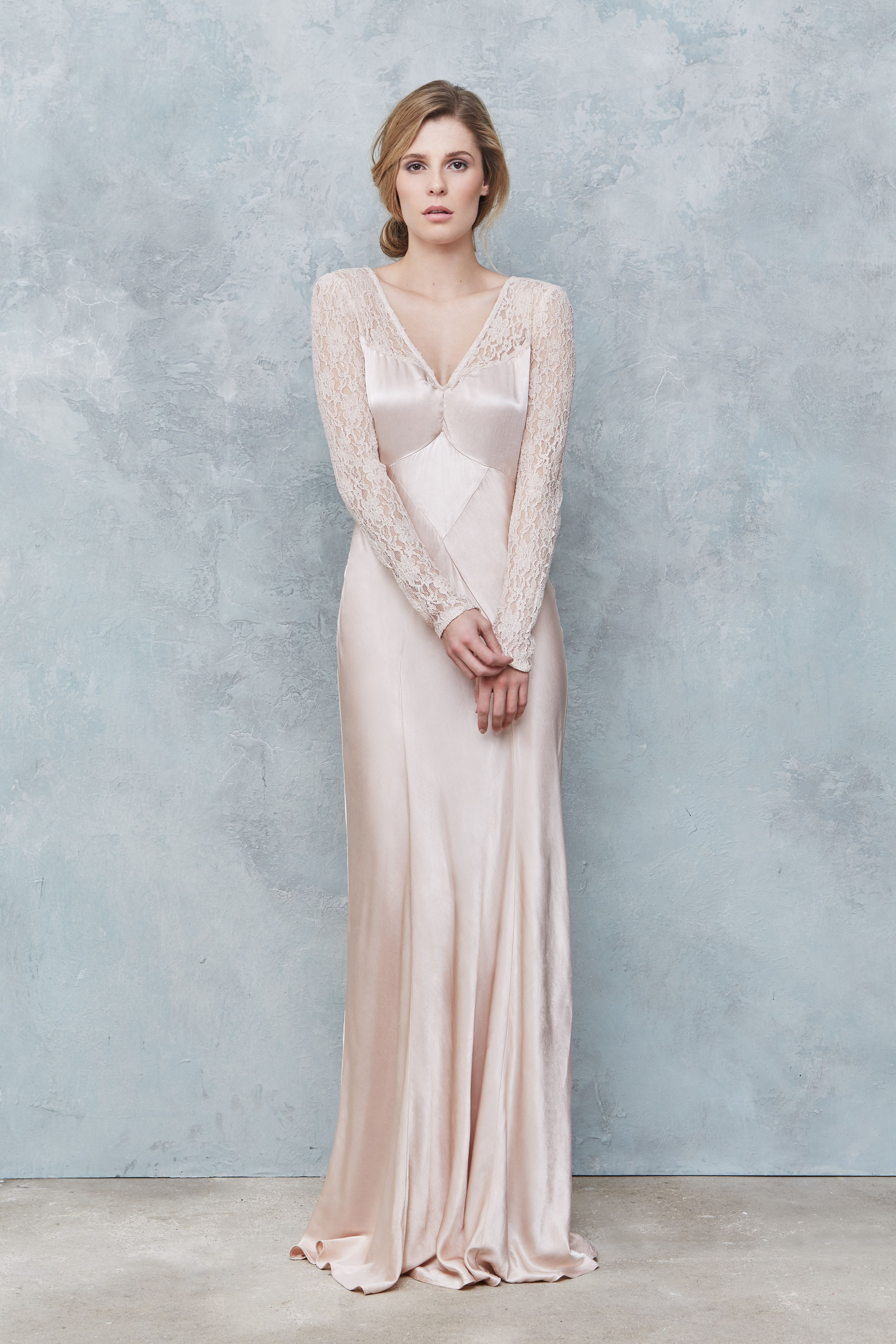 Ghost Susie Dress In Oyster http://www.ghost.co.uk ...