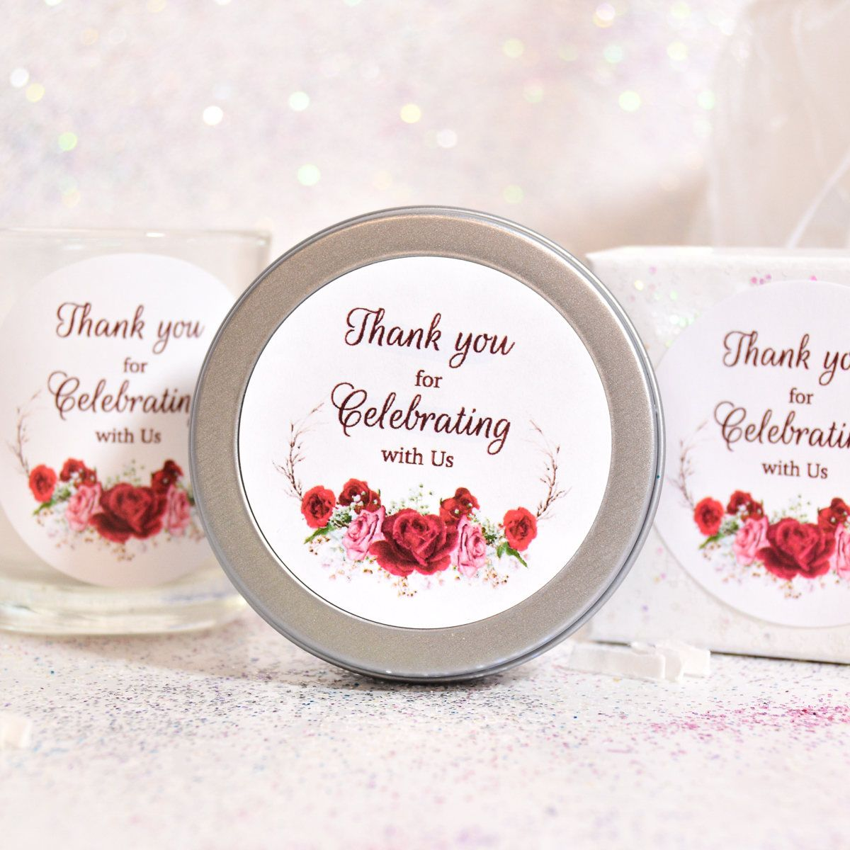 Awesome Wedding Gift Bag Stickers Ornament - The Wedding Ideas ...