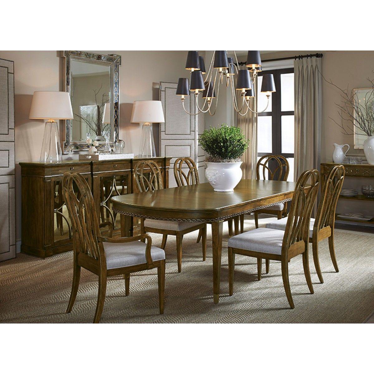 Drexel Heritage Olio Imagination Dining Table  Lake House Design Custom Drexel Heritage Dining Room Design Inspiration