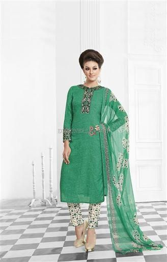 Buy Punjabi Dress Neck Pattern With Latest Embroidery