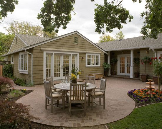 Exterior Cedar Shake One Story Ranch Design Pictures Remodel