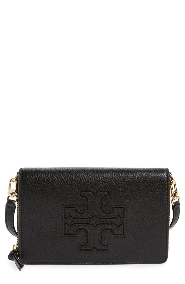 40727949d49 Main Image - Tory Burch  Harper  Pebbled Leather Wallet Crossbody ...