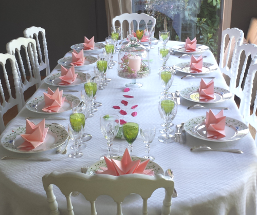 La table de communion de laurence mesa bella blog decor - Idees deco bapteme fille ...