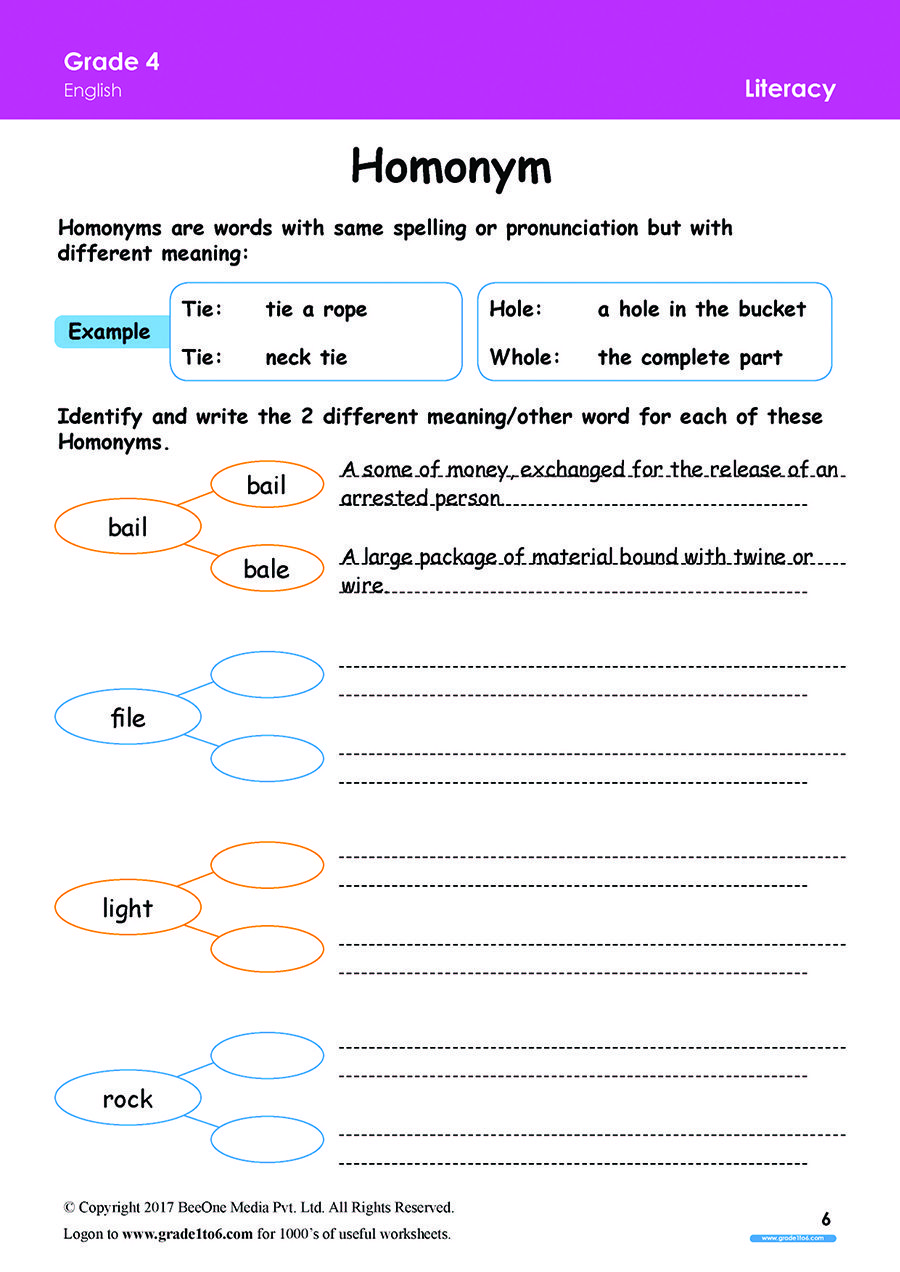 Pin On Grade 4 English Worksheets Pyp Cbse Icse [ 1272 x 900 Pixel ]