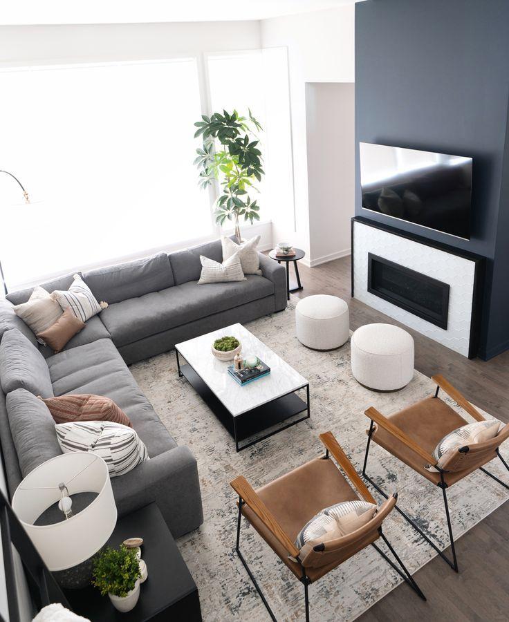 Riverside Modern Living Room