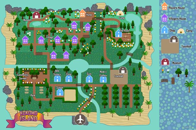 animal crossing new horizons island garden ideas