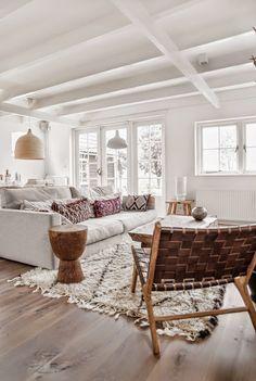 Inspiratie! Lichte en natuurlijke woonkamer, De Hypotheker, De ...
