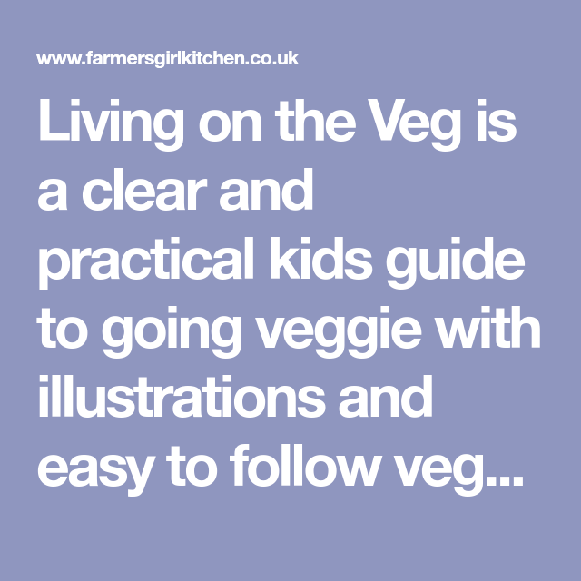 Cloud Eggs and a kids' guide to going veggie
