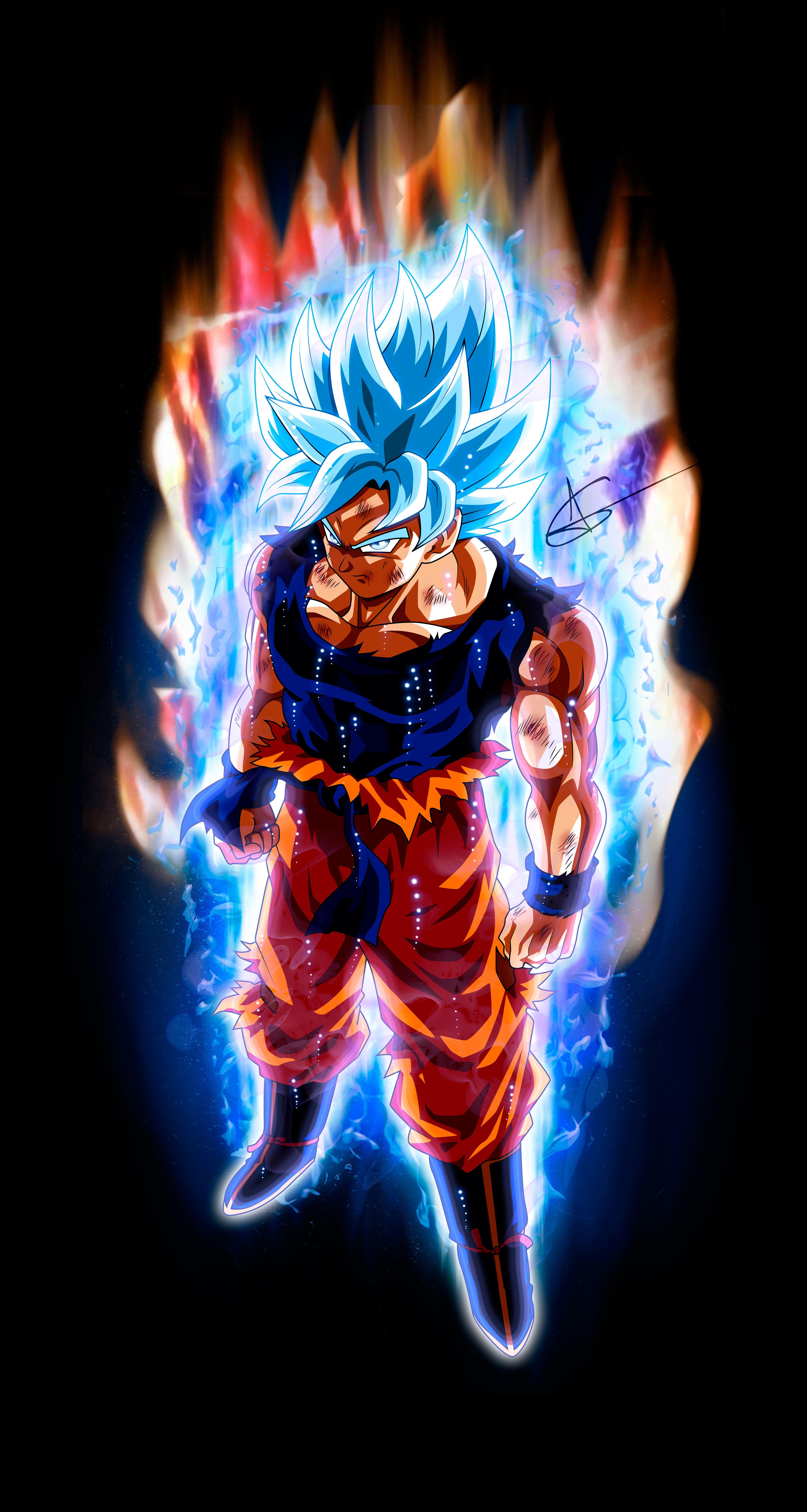 Son Goku Super Saiyan God Instinct Variation Form