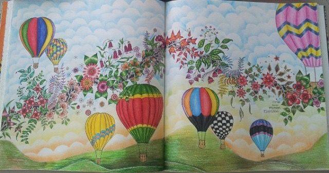 Ramo Joaninha / Jardim Secreto / Johanna Basford