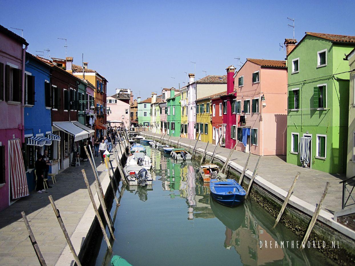 Venetie De Eilanden Murano En Burano Venetie Italie Venetie Italie
