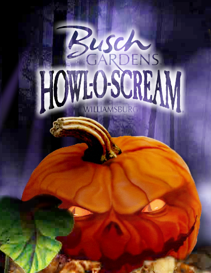 Busch Gardens Howl Scream 2018 Tickets
