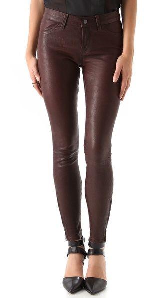 ffcee37311689 J Brand Super Skinny Leather Pants
