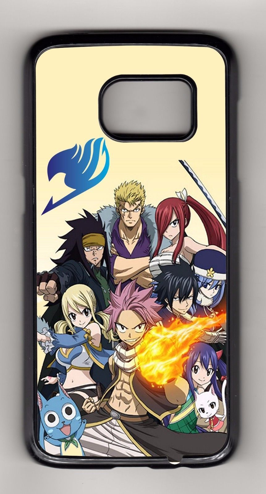 Fairy tail anime samsung galaxynote case or wallet