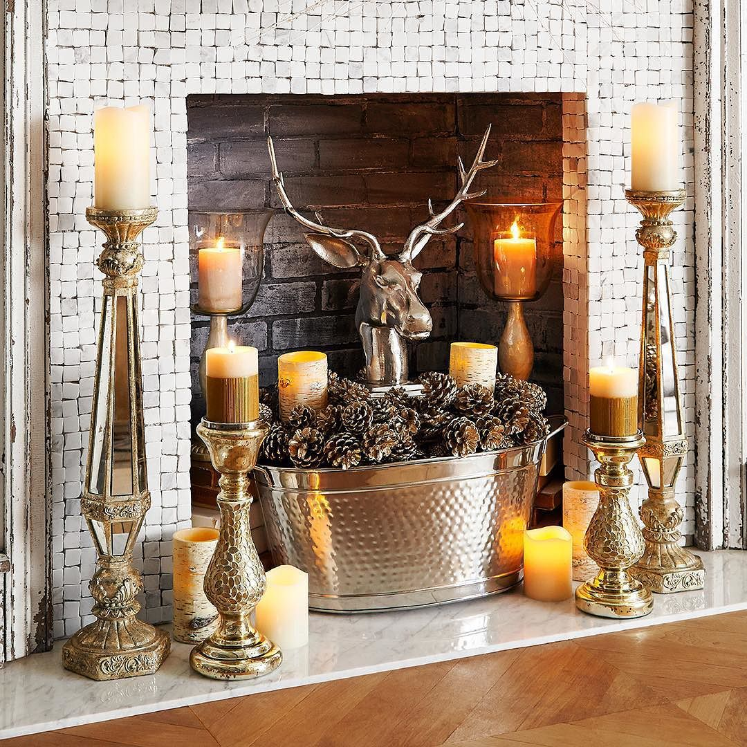There's More Than One Way To Make Your #fireplace Glow. A