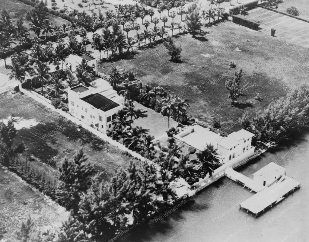 aerial al capones florida property x reprint of old photo old aerial al capones florida property 8x10 reprint of old photo