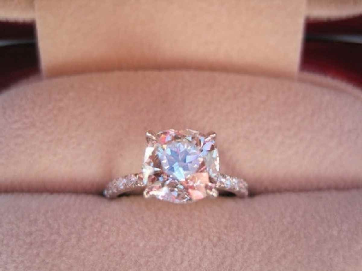 Blush Pink Diamond Engagement Rings | Diamond Engagement Rings ...