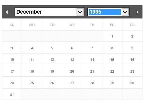 Flexible and Multi-Language jQuery Calendar & Datepicker