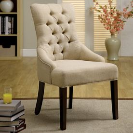 Furniture Of America Set Of 2 Sala Espresso Accent Chairs Accent