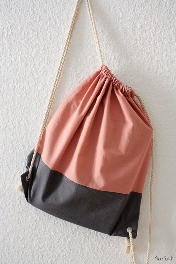 Rucksack Turnbeutel Altrosa | bags | Pinterest | Altrosa, Turnbeutel ...