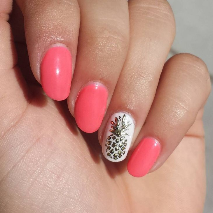 Drink Gray Weddings Manicure Ideas Nail Salmon Nails Slime Perfect Fabulous Pineapple