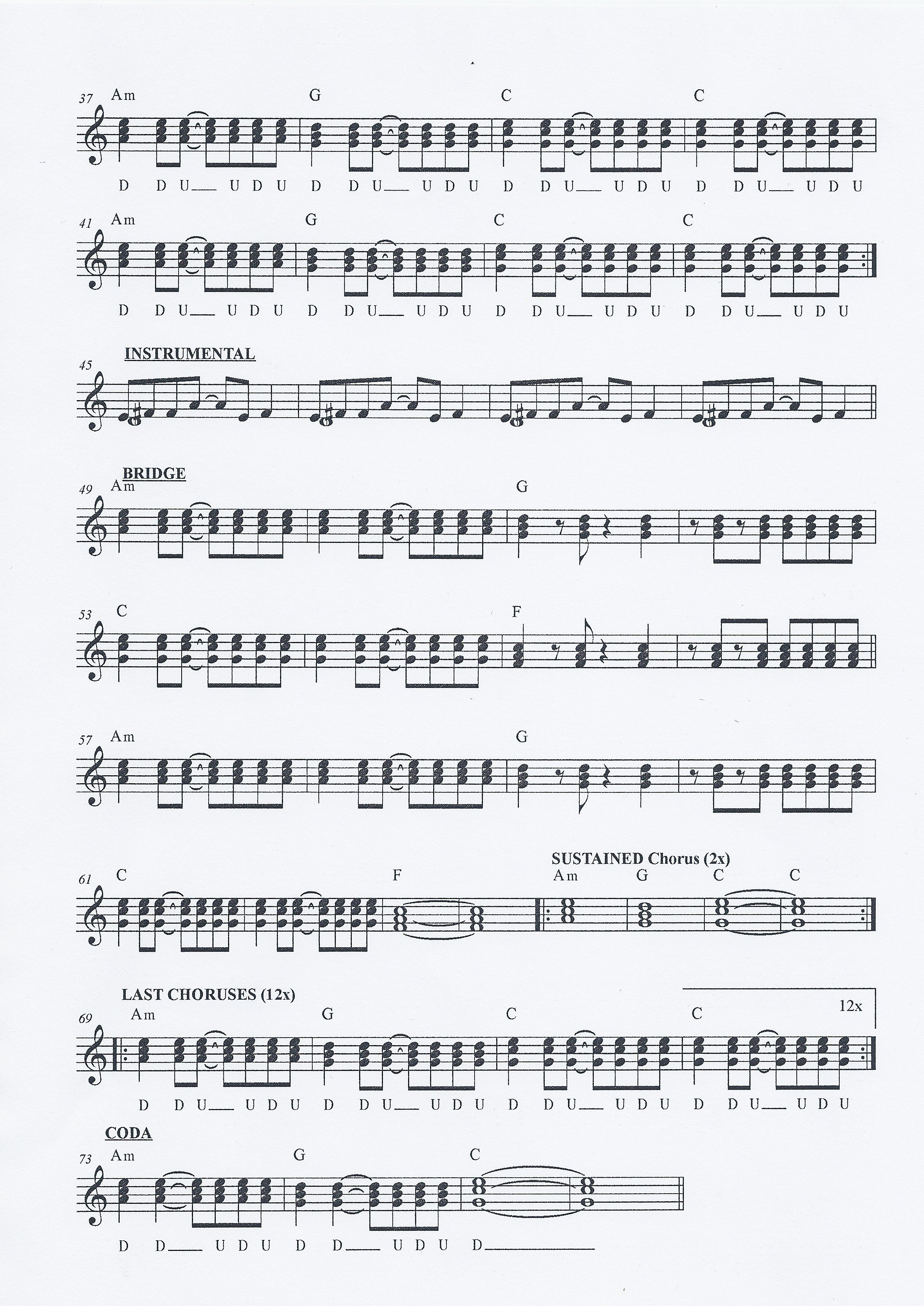 Riptide Piano Sheet Music With Letters Creativeletter