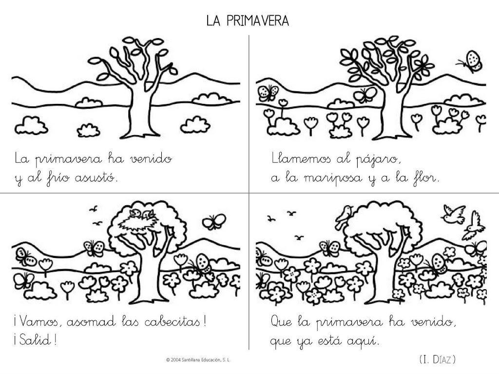 Poemas y rimas infantiles de la primavera para niños | E-Videos ...