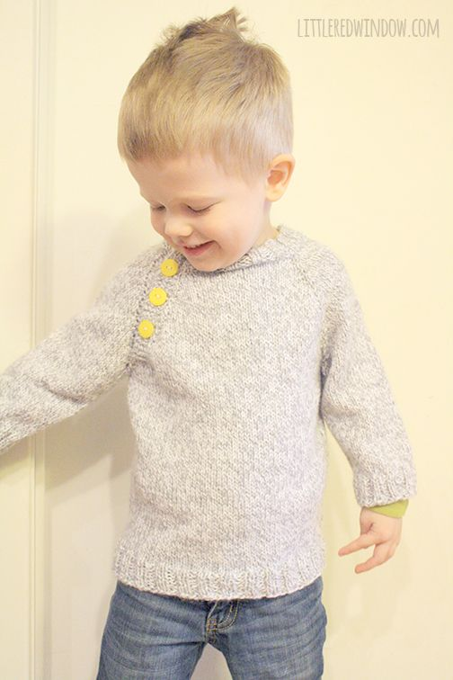 My Favorite Sweater Knitting Patterns for Babies | Tejido, Chaleco ...