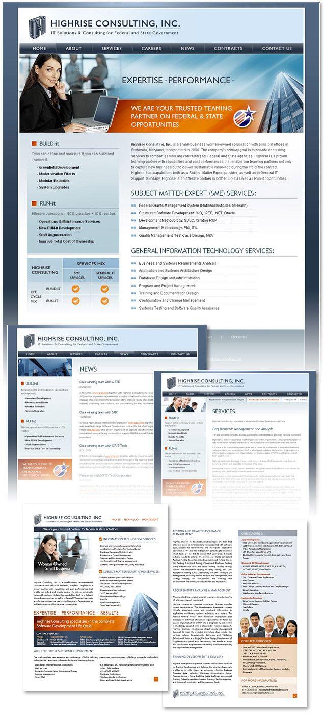 Fairfax Website Design By Lightmix Fairfax Virginia It Consulting Firm Website Design Information Technology Services Portfolio Site Washington Dc
